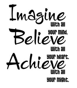 Imagine-believe-achieve
